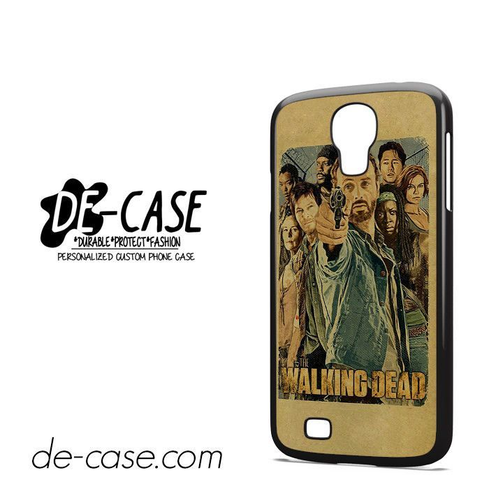 The Walking Dead Art DEAL-11054 Samsung Phonecase Cover For Samsung Galaxy S4 / S4 Mini