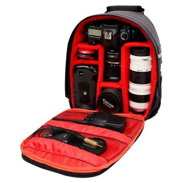 Waterproof Reflective DSLR Camera Bag