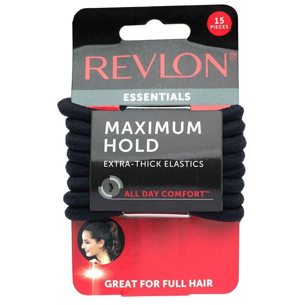 Revlon Extra Thick Black Hair Elastics db232f279f5