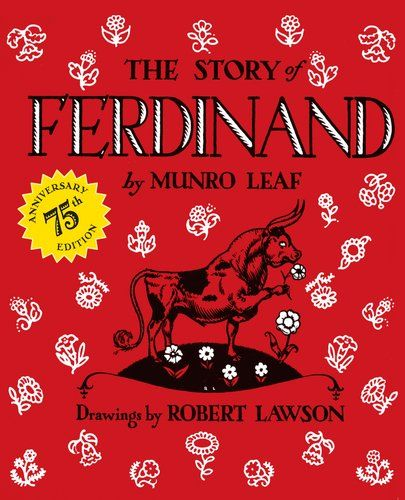www.CuratedChildrensBooks.com | #CuratorsChoice - The Story of Ferdinand by Munro Leaf. #classic #kidlit #book