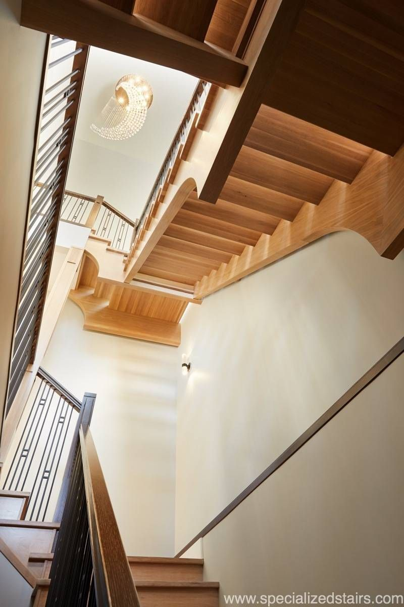 Best Open Rise Eastern Stair Stairs Basement Stairs 640 x 480