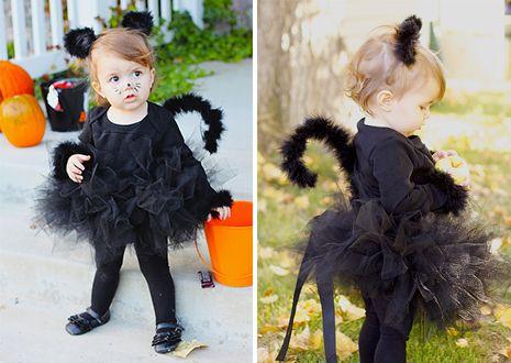 Новогодний костюм кошки для девочки своими руками