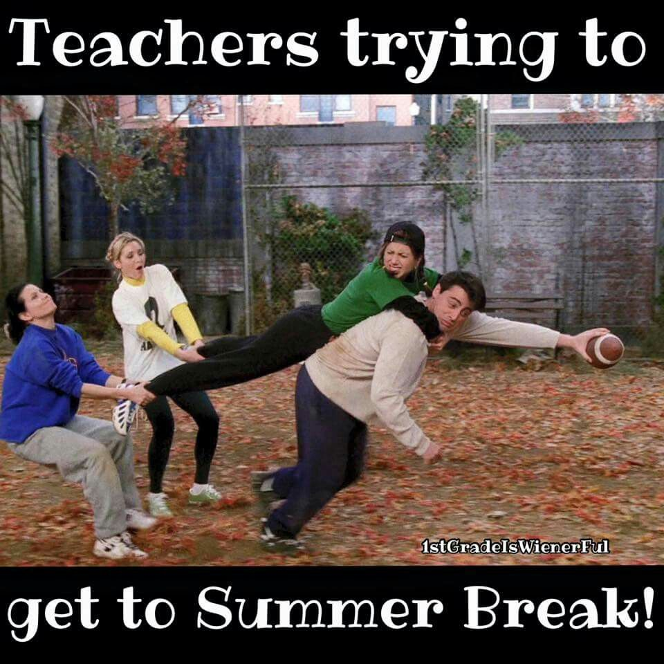 Teachers Trying To Get To Summer Break Funny School Pictures Teacher Memes Funny Teacher Quotes Funny