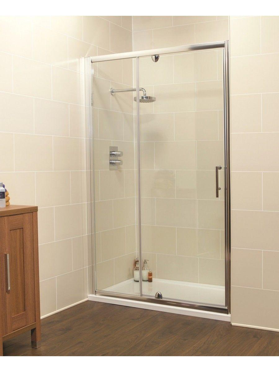 K2 1000 Pivot Shower Door & Inline Shower Enclosure - Adjustment 960 ...