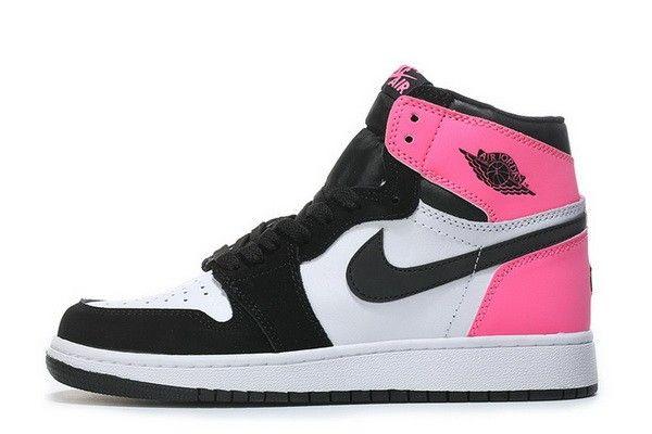air jordan 1 bianche e rosa