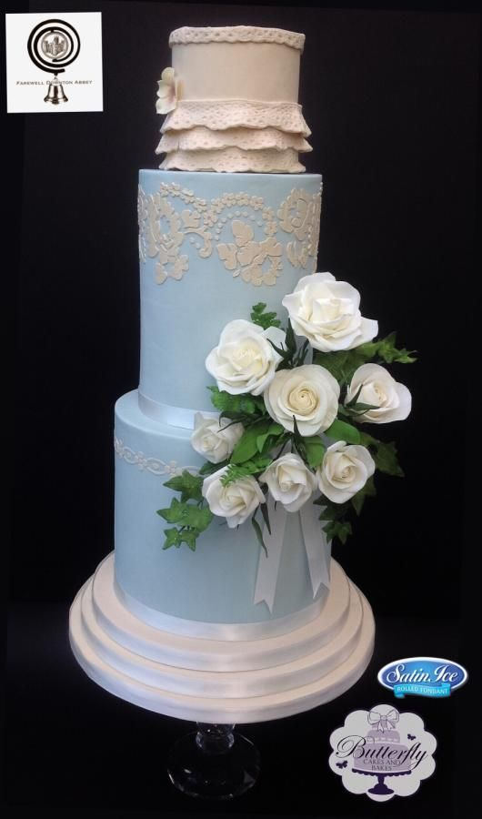 Lady Rose - Downton Abbey by Butterfly Cakes and Bakes