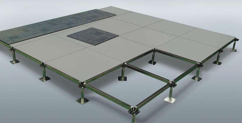 Match With Carpet Steel Encased Wood Core Raised Access Floor