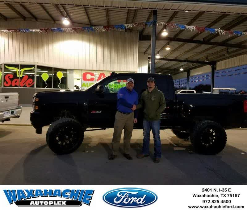 Happybirthday To Jordan From J David Thornhill At Waxahachie Ford