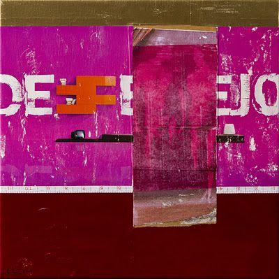 Dilar Periera - Portugal - Desejo - collage on canvas  - 2009.