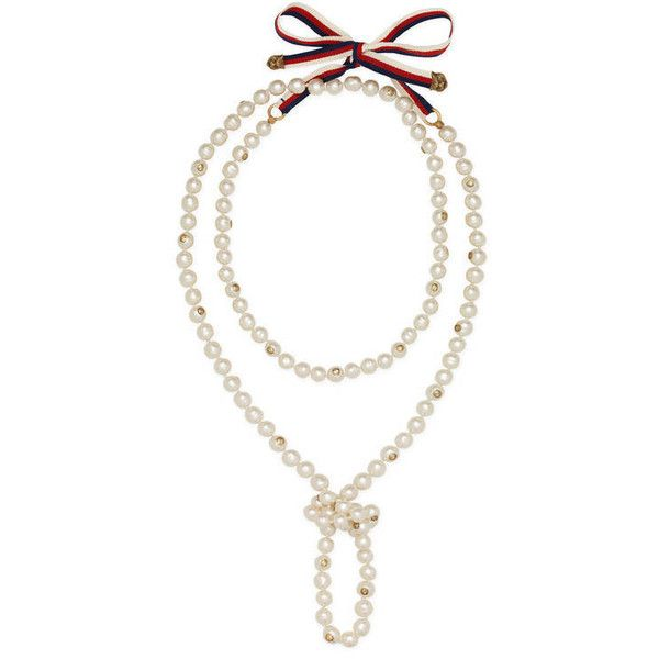 Gucci Pearl necklace - White v8wdaZRflh