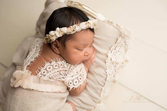 Neugeborene Spielanzug Baby Mädchen Foto Outfit Spitze Strampler