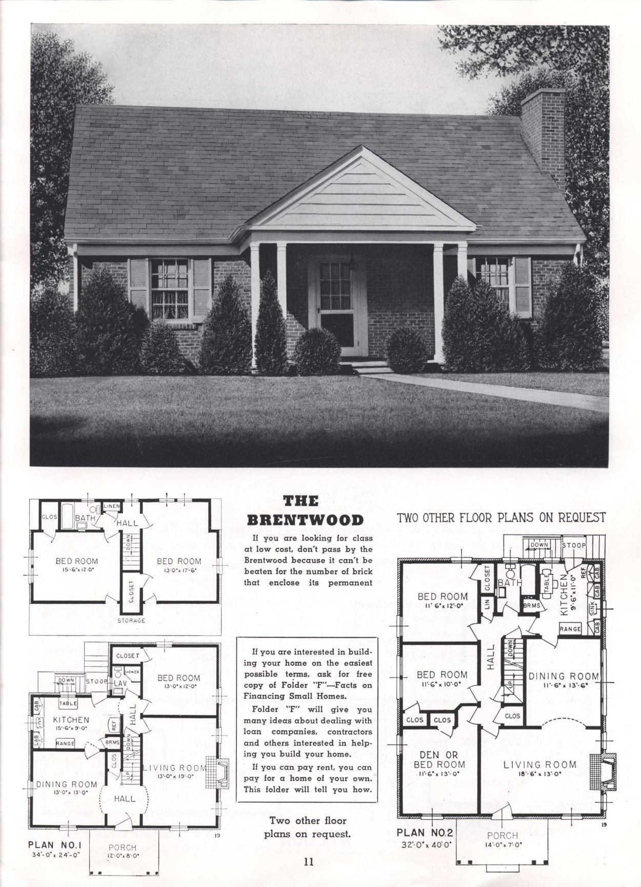 Homes Of Today And Tomorrow B 48 Standard Homes Co Free Download Borrow And Streaming Internet Archive Dream House Plans Classic House How To Plan