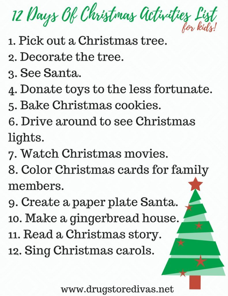 Ad How Are You And Your Kids Getting Into The Holiday Spirit This Year This 12 Days Of Chr Christmas Activities Christmas To Do List Holiday Season Christmas