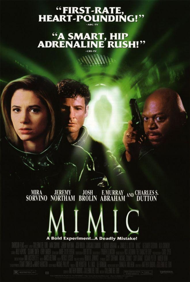 Mimic 1997 Movie Review Filmes De Terror Cartazes De Cinema E