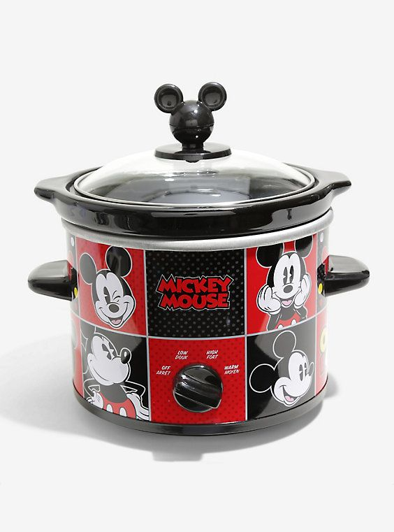 Disney Mickey Mouse Two Quart Slow Cooker,