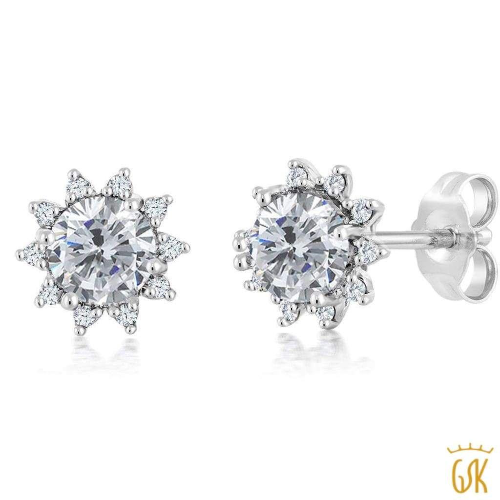 2dd08d73a Espresso Natural Color Diamonds 10k Gold 1/2-ct. T.W. Brown & White Diamond  Stud Earrings