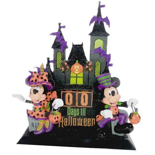 Your WDW Store - Disney Halloween Calendar - Halloween Countdown - Ceramic