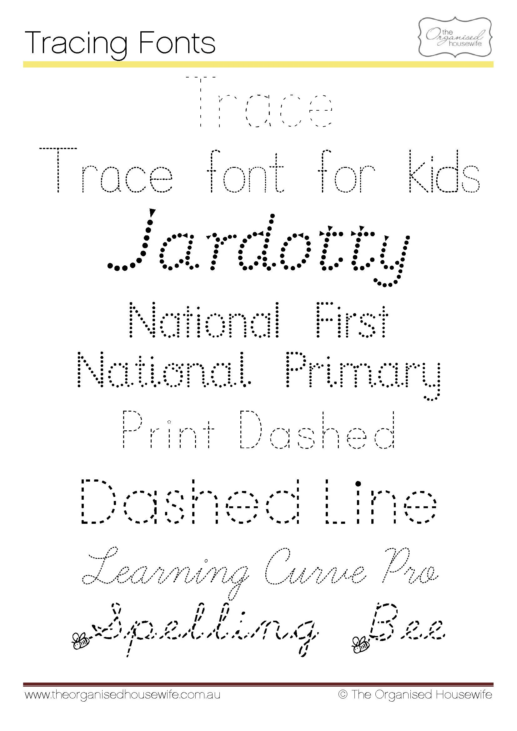 Fonts To Help Kids To Write Qld Cursive