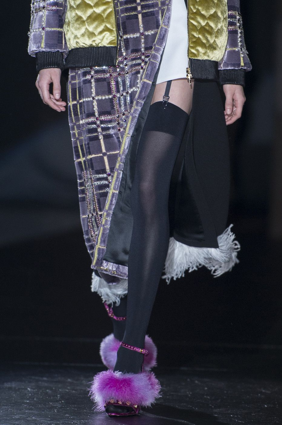 Fausto Puglisi at Milan Fall 2017 (Details)