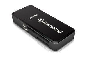 Transcend TS-RDF5K Lecteur de cartes SD/MicroSD USB 3.0 Noir