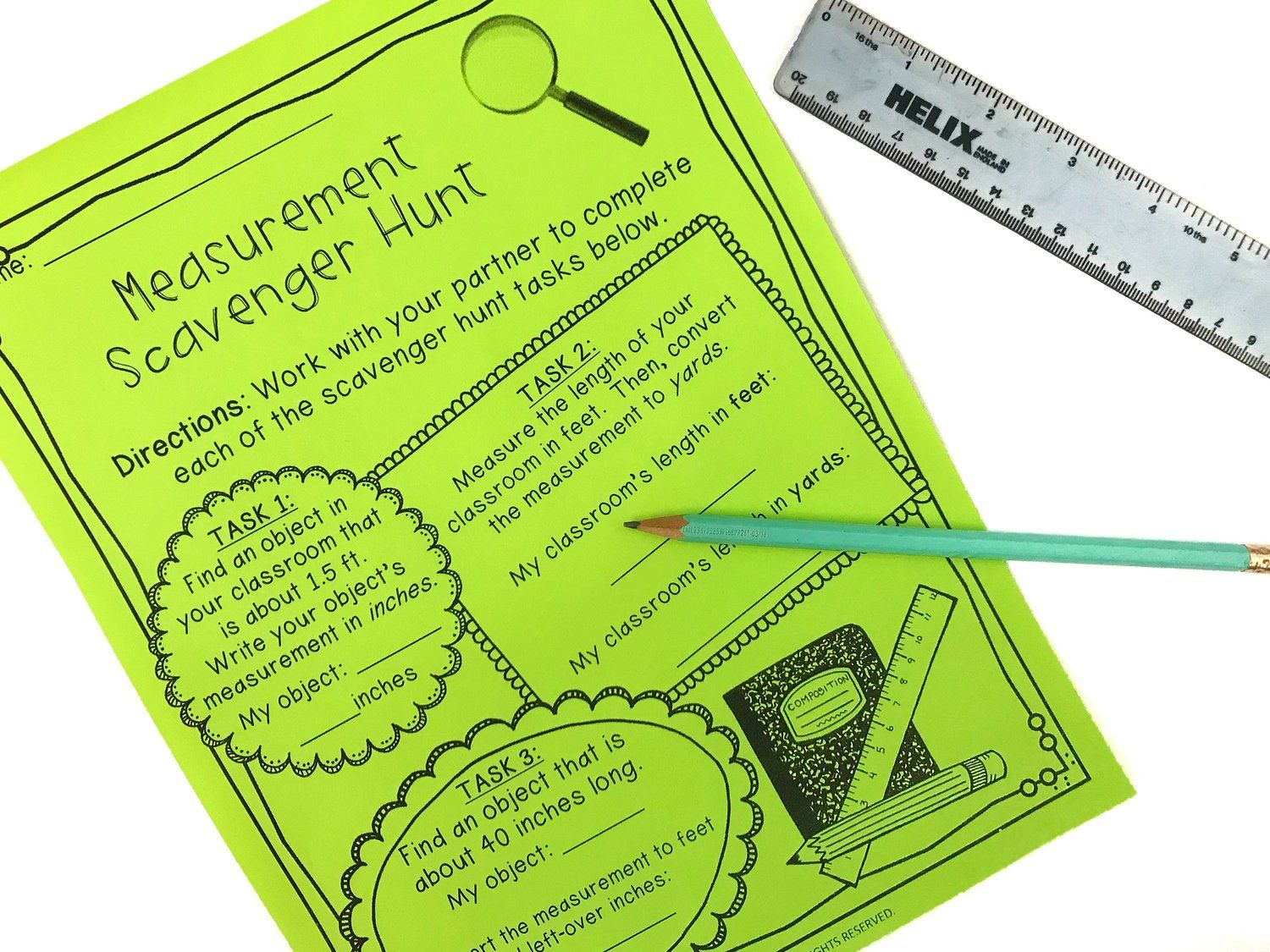 Interactive Ways To Teach Measurement And Measurement