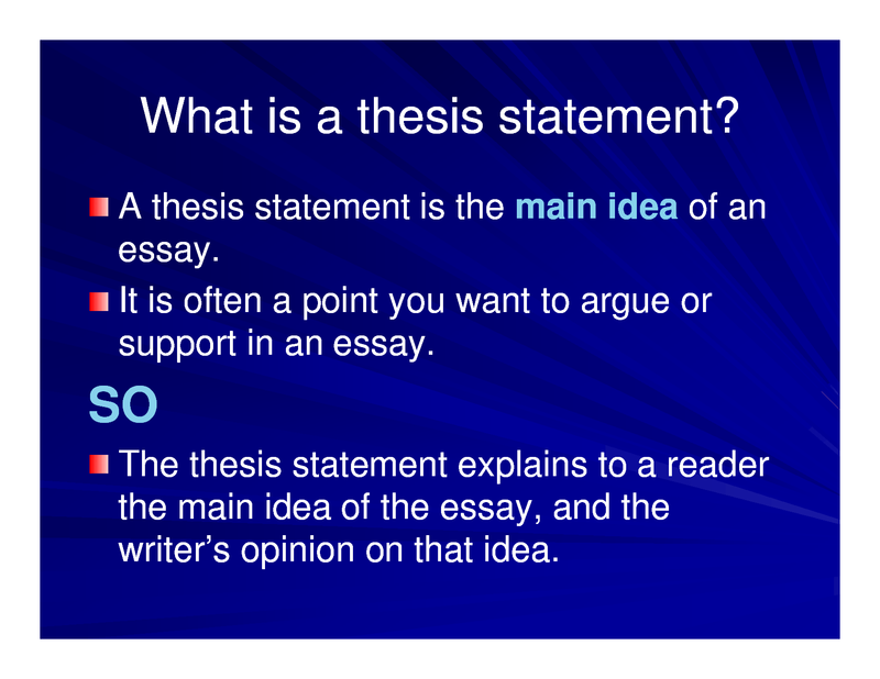 hacker thesis statement Although i caution, above, that facts make poor thesis statements (hacker 574) know that your thesis statement serves as the crux of the argument that is.