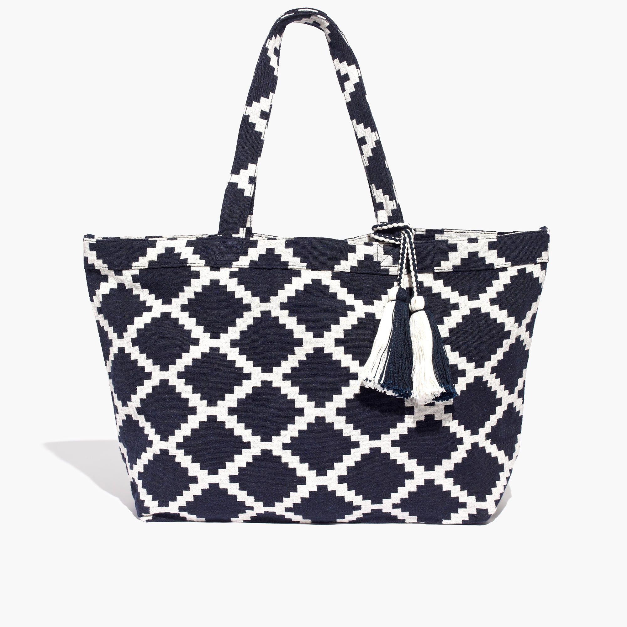 1eff902c4c Madewell The Amalfi Jacquard Tote Bag