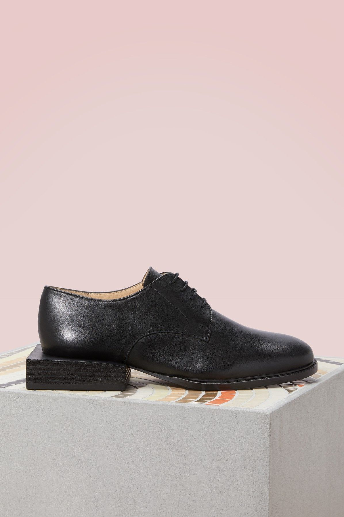 JACQUEMUS. Jacquemus ShoesBrogues. Buy JACQUEMUS Brogues with geometric heels  online ...