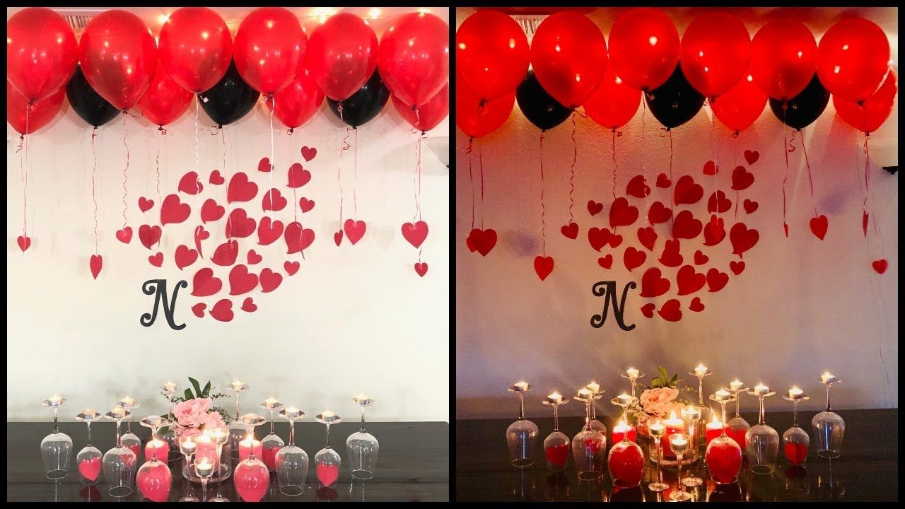 Low Budget Simple Wedding Anniversary Decorations At Home Addicfashion