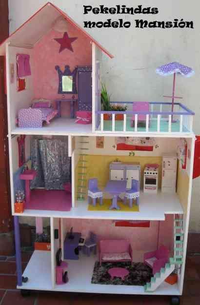 Casitas de mu eca diy buscar con google casita - Casa de barbie con ascensor ...