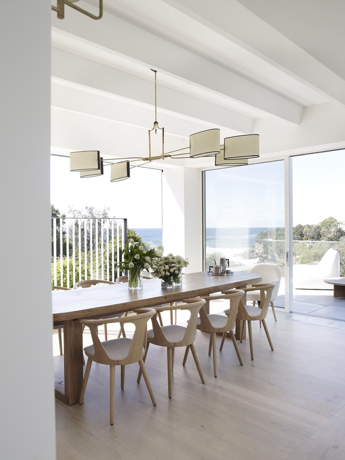 Dining Area Indoor Outdoor Dining Room By Madeleine Blanchfield Architects