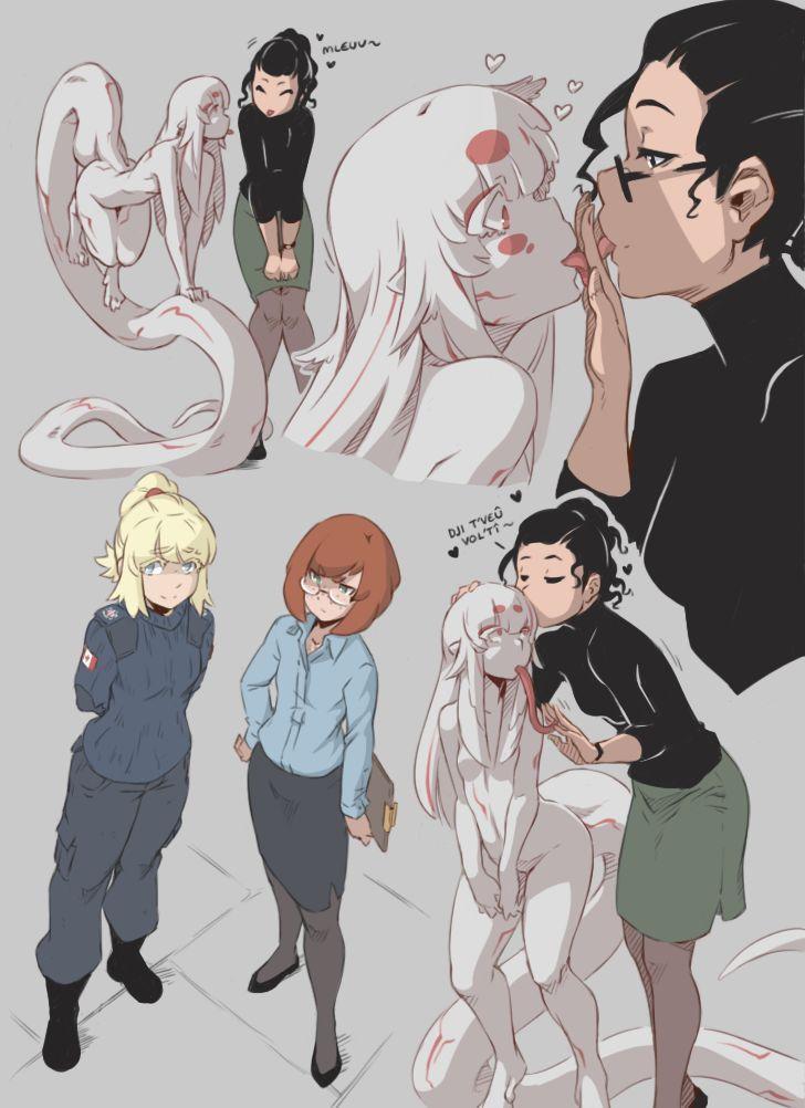 Image Result For Hushabye Valley Alien Girl  Comics  Alien Girl, Anime Monsters, Anime-7313