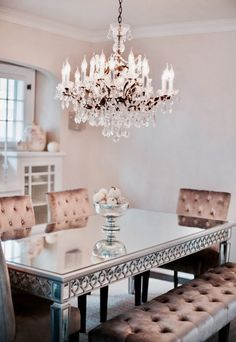 Pretty Dining Room Home Decor House Interior Interior