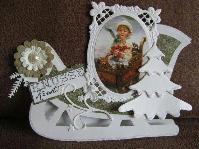 Dutch Doobadoo Card Art Slee Door Sylvia