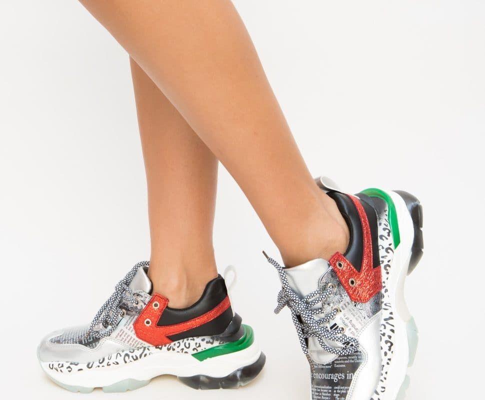 A rayas capítulo Desmantelar  Pantofi Sport Doretta Gri • Haine Ieftine in 2020 | Air max sneakers,  Sneakers nike, Nike air max