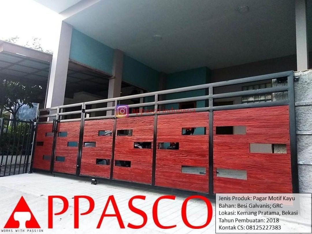 New] The 10 Best Home Decor (with Pictures) - Pagar Minimalis Motif Kayu GRC  Galvanis Di Kemang Pratama Bekasi Pagar Modern Minimalis De… | Minimalis,  Kayu, Pagar