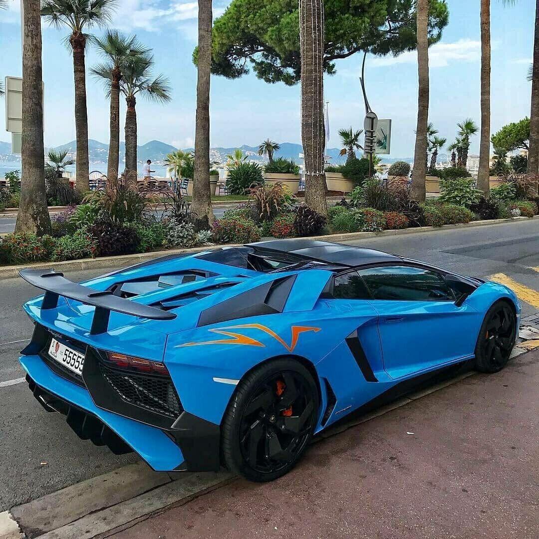 Lamborghini Supercar: Lamborghini Aventador SV Roadster Only The Best From The