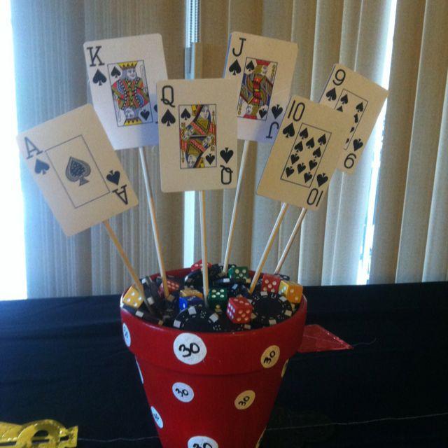 30th Birthday centerpiece Birthday Party ideas Pinterest