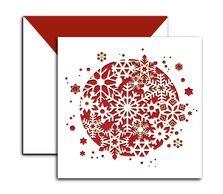 Laser Cut Christmas Card 4 | Materials Project Ideas | Pinterest ...