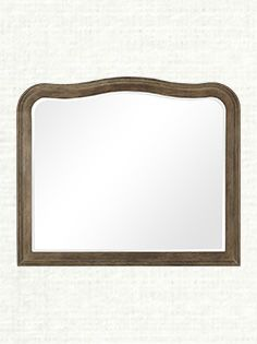 "Belmont 52""x 44"" Mirror With Beveled Egde In Natural"
