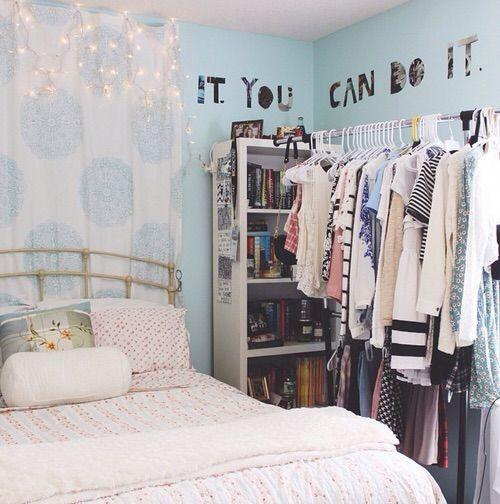 Imagen de room, bedroom, and blue