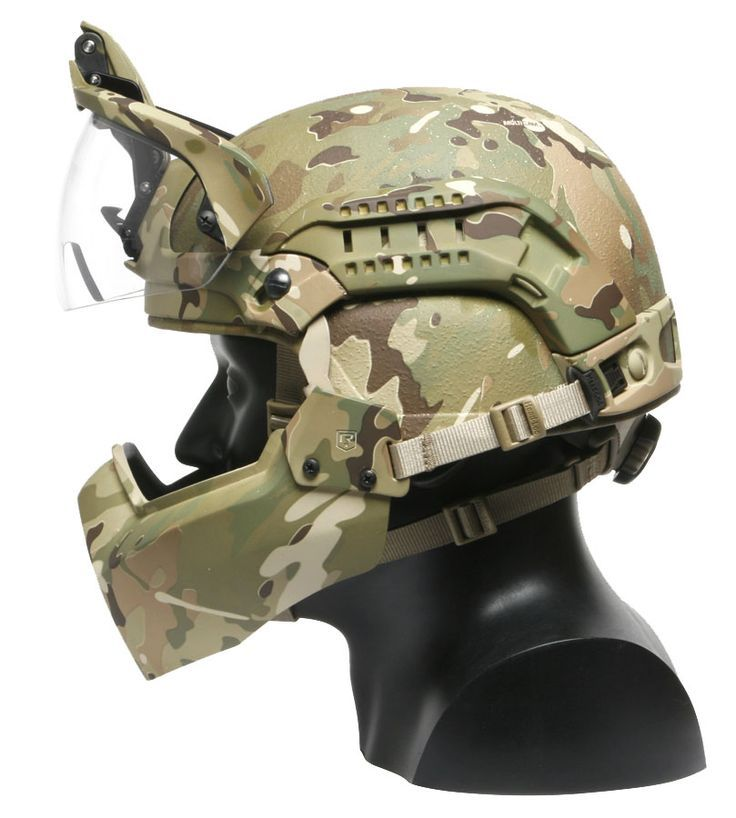 Tactical Helmet On Pinterest Airsoft Paintball Mask And