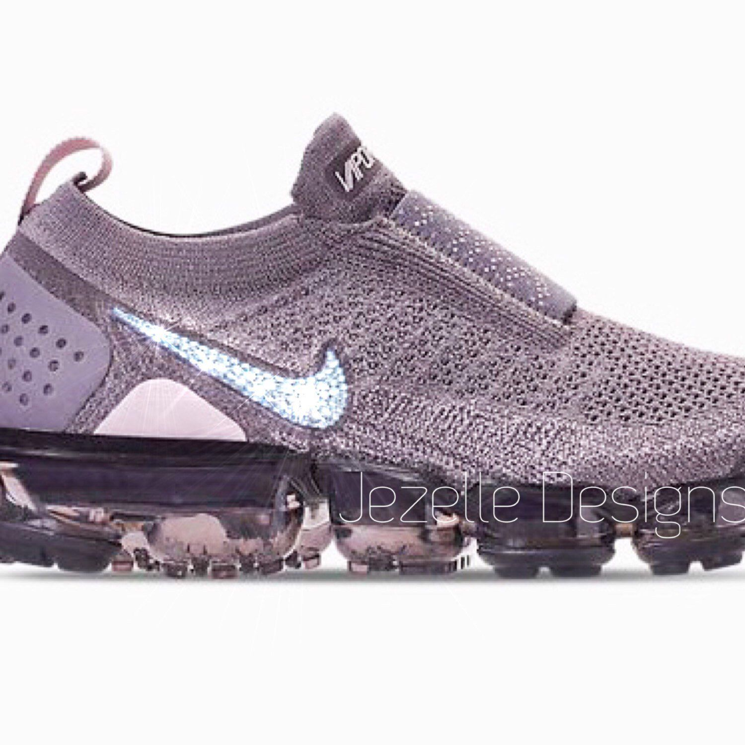 8281c6c496393 Sneaker CRUSH! 😍 New Swarovski Crystal Nike VaporMax MOC2 by Jezelle  Designs! 💎 Hurry! ⏰ Limited Release! ⏰