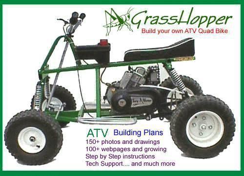 How To Build An Atv Kartline Com Diy Go Kart Go Kart Atv Quads