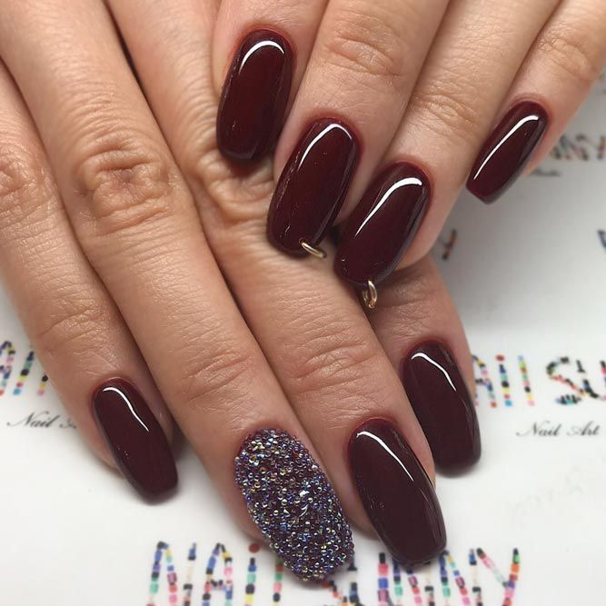 21 Manis That Will Make You Adore Squoval Nails | Hair makeup, Gray nails  and Makeup - 21 Manis That Will Make You Adore Squoval Nails Hair Makeup, Gray