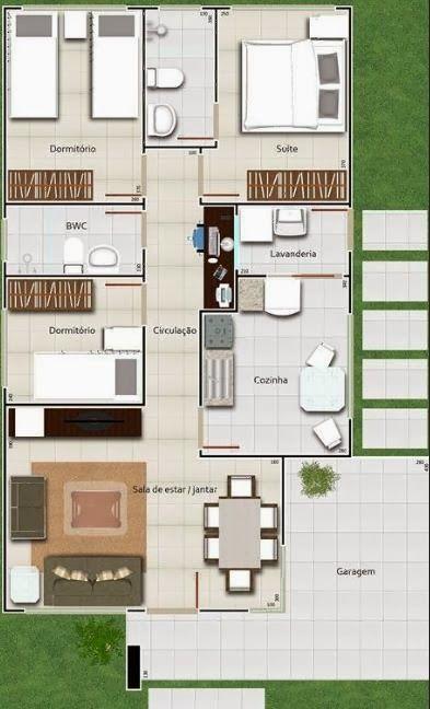 Pin by jose diaz on planos de casas pinterest small - Planos de casas minimalistas ...