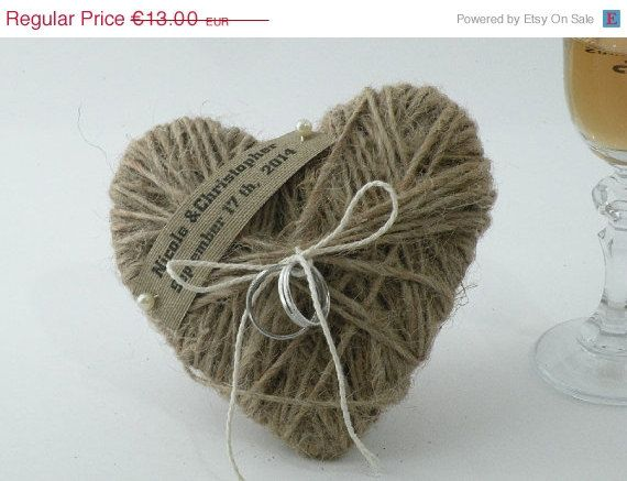 On sale Wedding Ring Holder / Pillow   ring by CloserToNature, €11.05