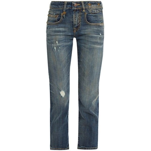 cropped jeans - Blue R13 Outlet Get Authentic Sale New Arrival bpuWPKH