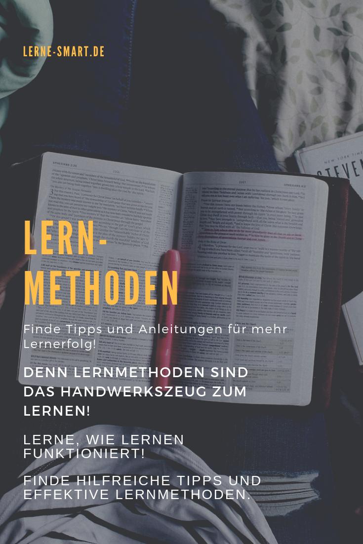 Lernmethoden - Tipps, Anleitungen & Beispiele für mehr Lernerfolg