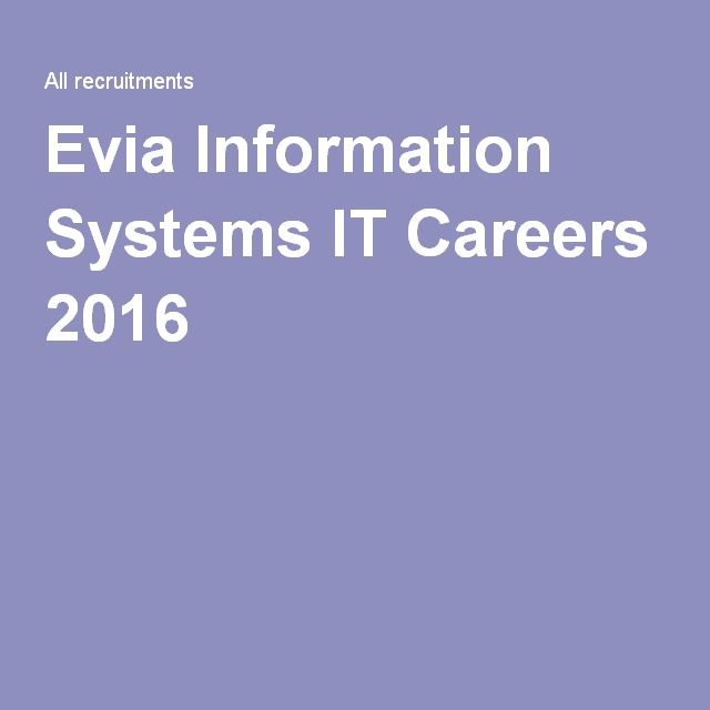 Evia Information Systems It Careers 2016 Healthcare Jobs Education Jobs Engineering Jobs